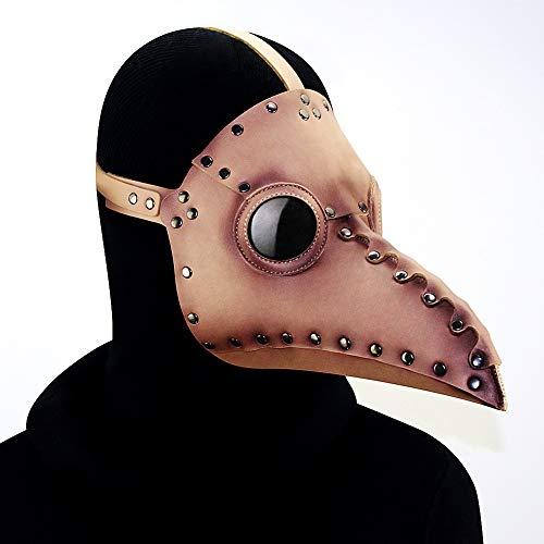 Big Nose Masquerade Masken Steampunk Halloween-Maske, Pest-Arzt-Maske, Rollenspieler