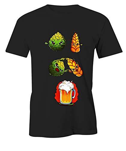 Puzzletee Tshirt Divertente Beer Fusion - Birra - Idea Regalo