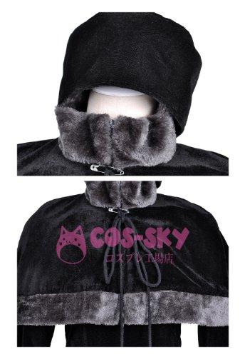 『銀河鉄道999 メーテルレジェンド メーテル風 コスプレ衣装 コスチューム Cosplay Costume 男性SSサイズ COSSKY』の4枚目の画像