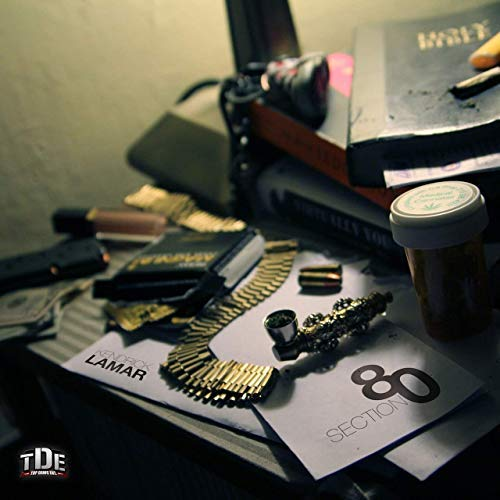 Lost Posters Album Cover Poster Thick Kendrick Lamar: Section 80 Music giclee Record LP Reprint 12x12