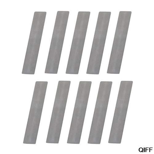 cjcaijun Ventil 10 Teile/los Ventilplatte für Kompressor Ventil Voller Spacer Luftkompressor Ersatzteile Papier U4LB (Color : 11X57mm)