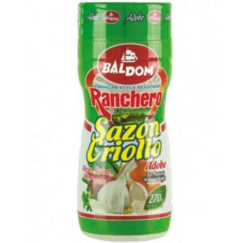 Baldom-Ranchero - Kreolisches Gewürz - Adobo - Kein Pfeffer - Gewürz nach dominikanischer Art - 270 Gramm