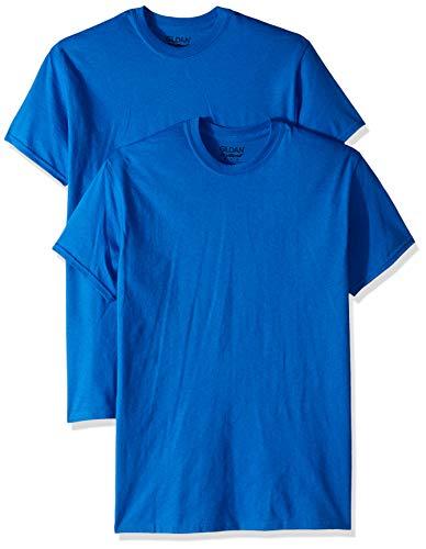 Gildan Men's DryBlend T-Shirt, Style G8000, 2-Pack, Royal, 2X-Large