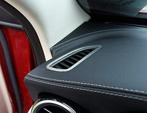 Autocollants de recouvrement de climatisation de Tableau de Bord en Alliage d'aluminium pour la Classe C W205 C200 GLC