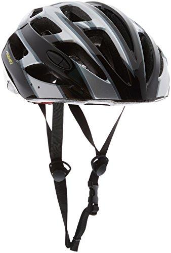Avento fietshelm Celio zwart/zilver