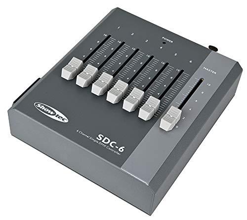 Showtec SDC-6 DMX controller 6 kanaals