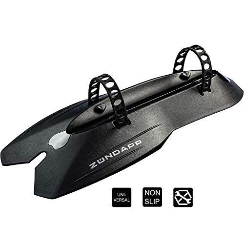 ZÜNDAPP Mountainbike Schutzblech Unterrohr Spritzschutz Fahrrad Mudguard MTB alle Zoll Größen Bike Rahmen Befestigung Schutzbleche abnehmbares Steckschutzblech Kotflügel vorne