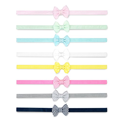 Printed and Solid Bow Head-wraps for Infants and Toddlers