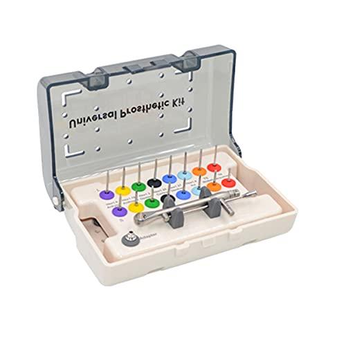 QNMM Kit de Prótesis de Implantes Dentales Llave Dinamométrica Kit De Prótesis Herramienta de Destornillador Múltiple Tipo Pestillo para Consultas Dentales