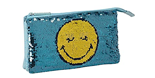 safta Portatodo Triple de Smiley World Little Dreamer, 220x30x120 mm