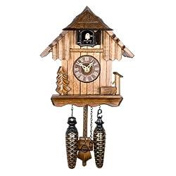 Adolf Herr Quartz Cuckoo Clock - The Log House AH 22 QM