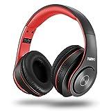 TUINYO Bluetooth-Kopfhörer Over Ear Hi-Fi Stereo Headset drahtloser Kopfhörer mit tiefen Bässen,...