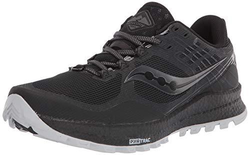 Saucony Xodus 10 Black, Zapatillas para Carreras de montaña para Hombre, Negro