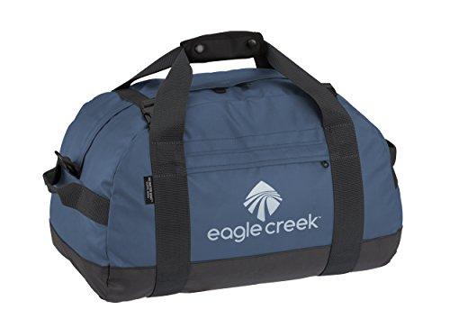 Eagle Creek Ultra Durable and Water-Resistant No Matter What Duffel S Packable Travel Bag, Blue Sac de Voyage, 46 cm, 30.3 liters, Bleu (Slate Blue)