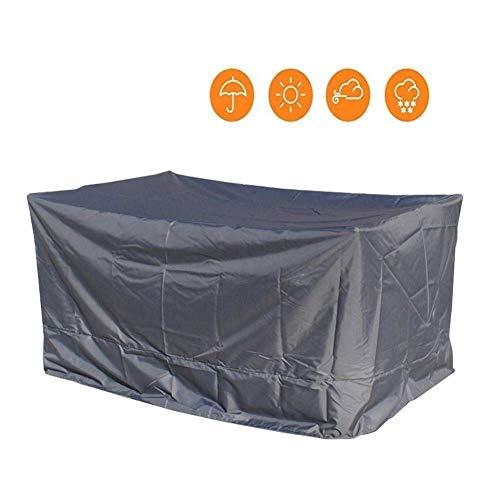 YJZ Gartenmöbel Abdeckung, UV-Schutz-windundurchlässige Shade Außenmöbel-Staubschutz, Wasserdicht Reißfest Oxford Cloth (Color : Gray, Size : 170x100x70CM)