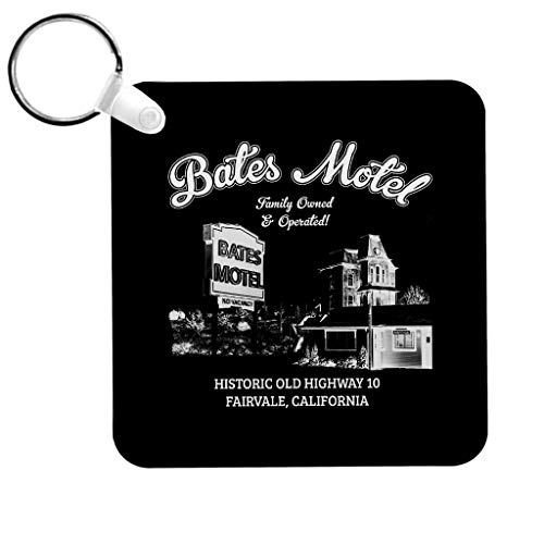 Cloud City 7 Psycho Bates Motel Family Owned and Operated Keyring