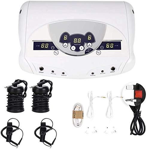 UALLL Ionic Detox Foot Bath Machine, Negative Ion Hydrogen Molecule Footbath Spa Detox Health Care Machine For 2 People Foot Massage