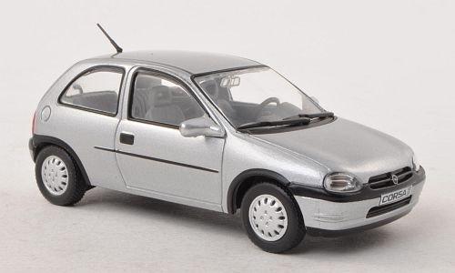 Opel Corsa B, Silber, 3-Türer (ohne Magazin) , 1993, Modellauto, Fertigmodell, SpecialC.-40 1:43