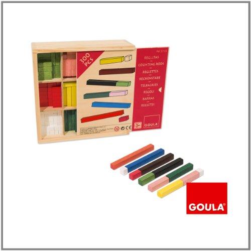 Goula - Juego de las regletas en caja (Diset 51106) , color/modelo surtido