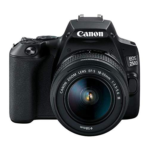 Canon EOS Rebel DSLR Camera with 18-55m DC Lens...
