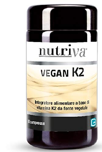 Nutriva Vegan K 2 Integratore Alimentare 30 Compresse