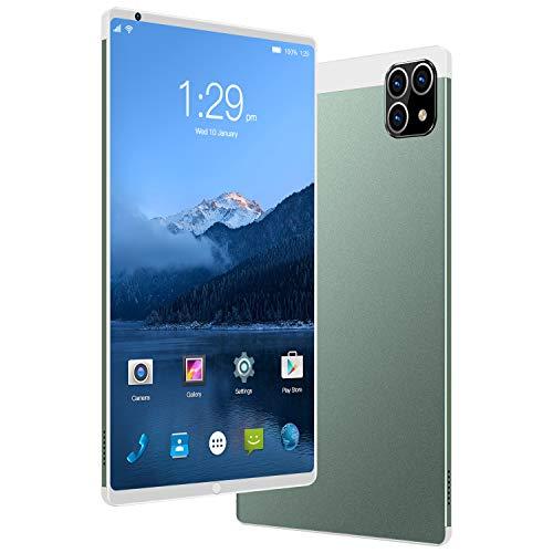 ELLENS Tableta de 8 Pulgadas, teléfono Android 3G Desbloqueado, Doble SIM Gratuita, 1 GB de RAM, 16 GB de ROM, extensión de 128 GB, procesador de Cuatro núcleos, WiFi + GPS + FM + Bluetooth