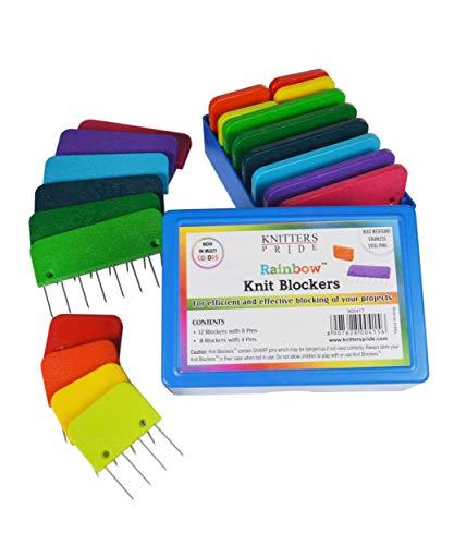 Knitter's Pride Rainbow Knit Blockers-Package of 20