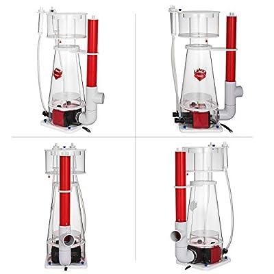 Olibelle Écumeur Internes de Protéines 220V Ecumeur Protéine Skimmer Filtre à Eau Pompe pour Aquariums