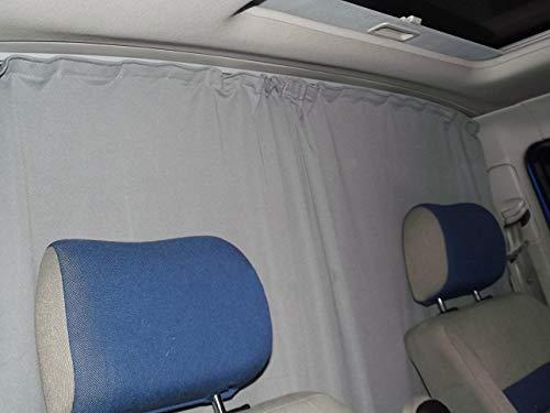 Abtrennung Fahrerhaus Sonnenschutz Führerhaus Gardinen Vorhang kompatiebel mit Renault Trafic II ab 2001-2014 FB:A_GR