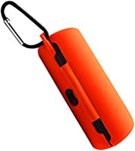 Silicone Case for Bose Soundsport Free Wireless Sport Headphones, Shockproof, Drop-Proof and Waterproof Full Body Protective Cover with Carabiner for Bose soundsport Free (Orange)