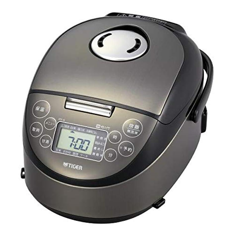 銃真空求人タイガー IH炊飯ジャー(3合炊き) サテンブラックTIGER 炊きたて JPF-A550-K