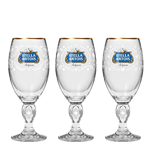 Stella Artois Better World 2019 Limited Edition Mexico, Peru, and Tanzania Chalice Gift Set, 33cl