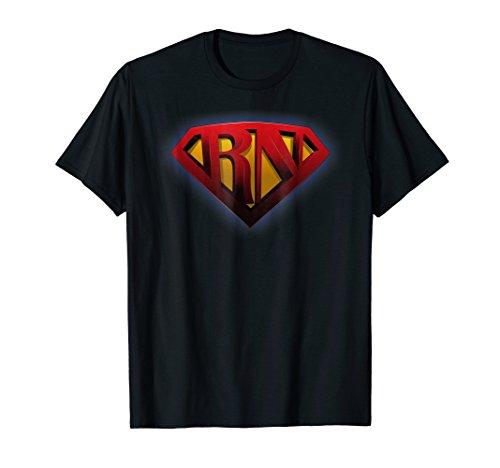 Super Nurse RN superhero Registered Nurse Ladies T-Shirt