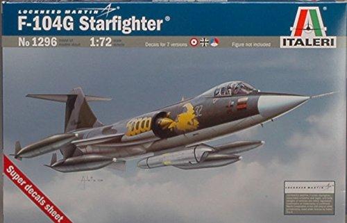 F 104 G RECCE STARFIGHTER KIT 1:72 - Italeri - Kit Aerei - Kit di Montaggio