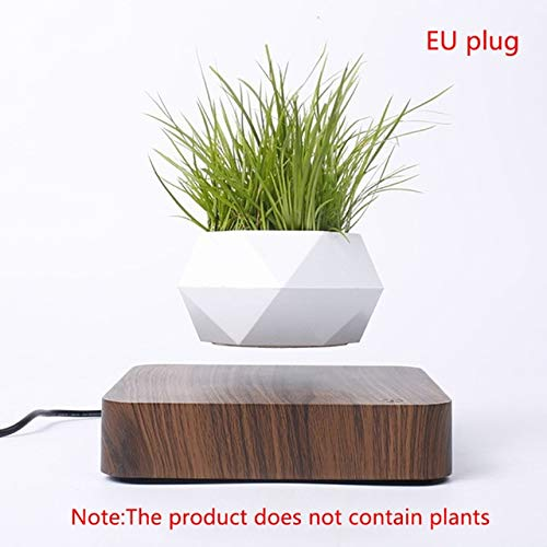 HONIC Levitating Air Bonsai Pot Magnetic Levitation Pflanzen Planter Blumentöpfe Topf Sukkulente Home Desk Bürodekoration Geschenk: B EU