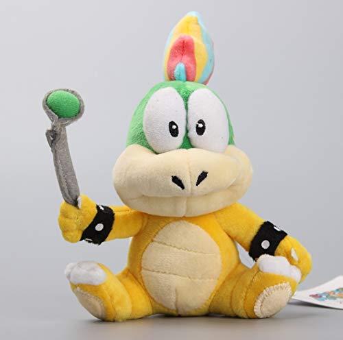LYH2019 Super Mario Koopalings Lemmy O Koopa Weiches Plüschtier Lemmy Figur Gefüllte Weiche Puppen 17 cm