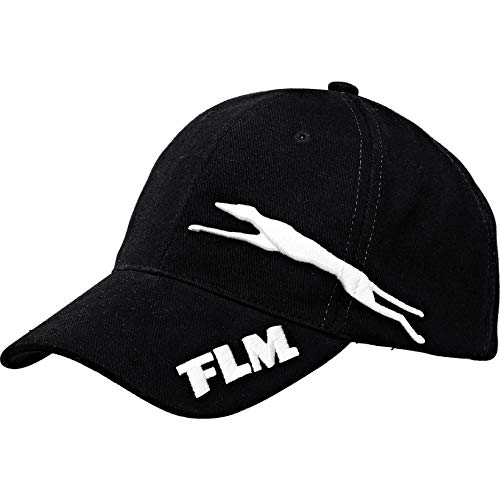 FLM Caps Cap 1.0 schwarz universal, Unisex, Casual/Fashion, Ganzjährig, Textil, Einheitsgröße