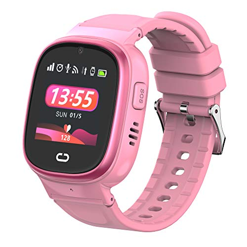 MY WATCH ★ Reloj GPS Niños 2.0 ★ Smartwatch para Niños Color Negro ★ Resistente al Agua ★ Pantalla Táctil ★ Reloj Niño GPS Localizador y Llamadas, WiFi, LBS, Voz, Cámara, SOS ★ Batería 520 Mah