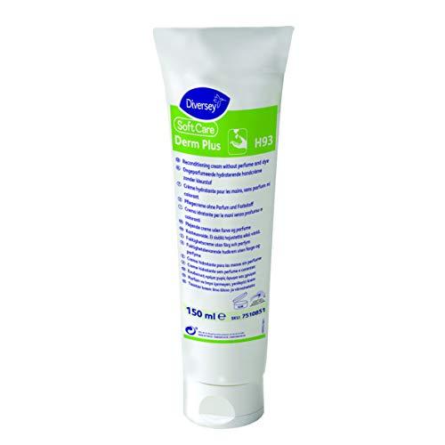 Diversey 7510851 Soft Care Derm Plus, handverzorgingscrème zonder parabenen, 0,15 l