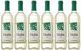 Viñalon Vino Mancha Blanco de 11º - Paquete de 6 botellas de 75 - Total 450 cl