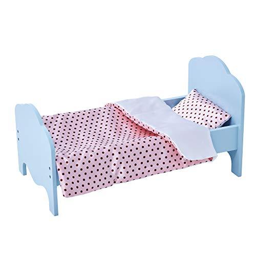 Olivia's Little World TD-11929-1K poppenbed, blauw