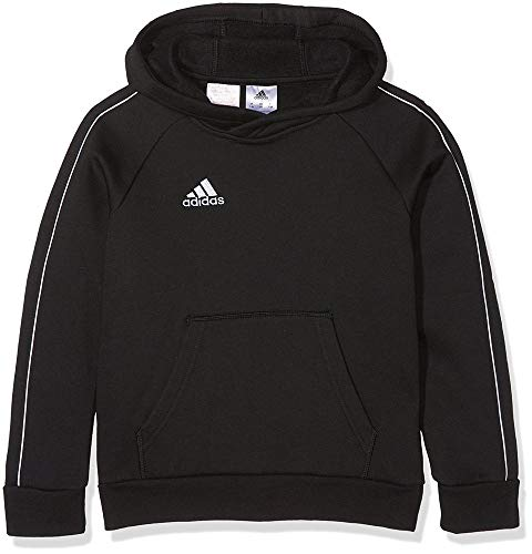 adidas Kinder CORE18 HOODY Y Sweatshirt black/White, 176
