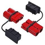 Ventana de coche botón del interruptor de relé 2pcs 175A 0 1 2 calibre del cable de la batería del enchufe de cables del conector de batería de coche de conexión rápida desconexión del conector del ca