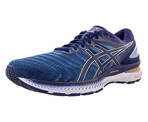 Zapatillas de correr Asics Gel-Nimbus 22 (D) para mujer, Azul (Aletas grises/Abrigo de marinero), 35.5 EU