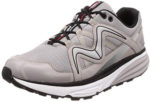 MBT Men's Simba ATR Rocker Bottom Walking Outdoor Hiking Shoe Grey/Silver Size 11