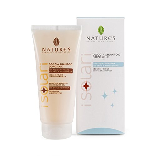 Nature's After Sun Shampooing & Gel Douche, avec melon Fruit Hydrolat et abricot Lait, 200 ml