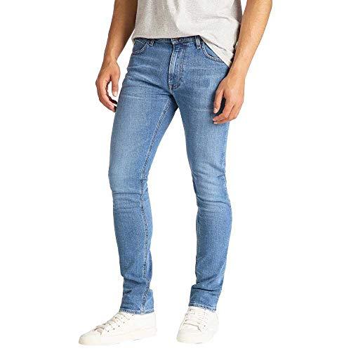 Lee Luke Jeans Slim, Blu (LT Worn Foam ER), 28W / 32L Uomo