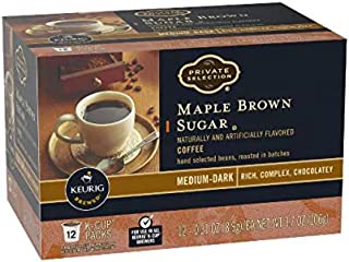 Private Selection Maple Brown Sugar Coffee K-Cups 12 Ct (Pack of 2)
