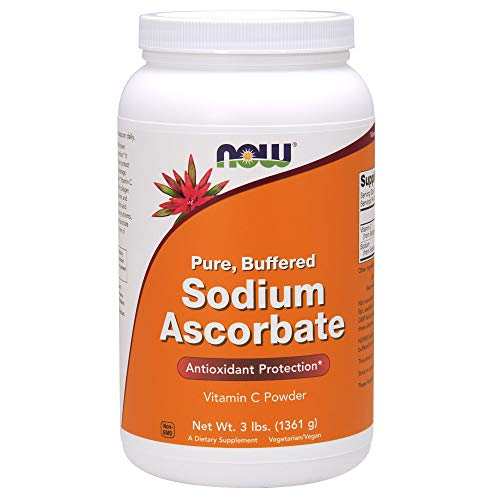 NOW Supplements, Sodium Ascorbate Powder, Buffered, Antioxidant Protection*, 3-Pound