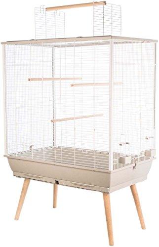 Zolux - Gabbia Neo Jill per uccelli domestici con piedi